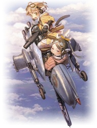 Last Exile: Ginyoku no Fam (Dub) poster