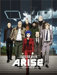 Poster of Ghost in the Shell: Arise - Border:1 Ghost Pain (Dub)