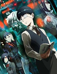 Poster of Tokyo Ghoul (Dub)