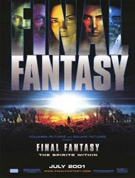 Poster of Final Fantasy: The Spirits Within