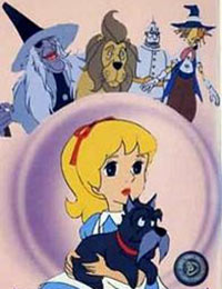 Poster of The Wizard of Oz (Dub)