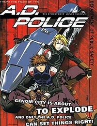 A.D. Police: To Protect and Serve (Dub) poster