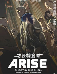 Poster of Ghost in the Shell: Arise - Border:4 Ghost Stands Alone (Dub)