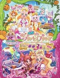 Poster of Go! Princess Precure: Go! Go!! Grand 3-Part Movie!!!